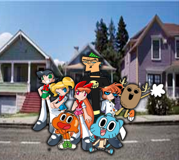 Gumball and Friends crossover