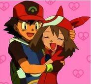 Ash and May