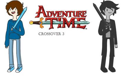 Adventure Time Crossover 3 Logo