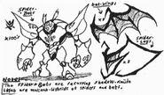 Captain japan spider bat sketches by kainsword kaijin-d89o9jx