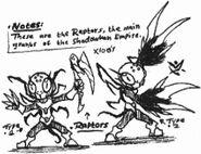 Rough raptor type doodles by kainsword kaijin-d8kpwld