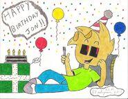 Happy birthday jonathan by 88milesprower-d68djol