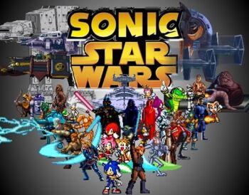 141043 Super Sonic Star Wars prep