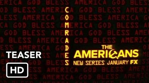 "The Americans (FX) Teaser 1 ""Rise Comrades"""