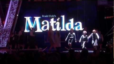 Matilda the Musical at the Royal Variety Performance 2012 - When I Grow Up & Naughty (HD)