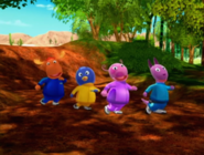 The Backyardigans Race Around the World 29 Characters