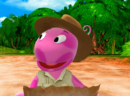The Backyardigans Quest for the Flying Rock 5 Uniqua