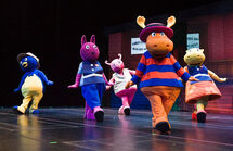 The Backyardigans Quest for the Extra Ordinary Aliens Characters