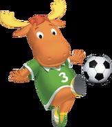 The Backyardigans Tyrone Soccer Fútbol Nickelodeon Nick Jr. Character Image