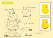 The Backyardigans Tasha Character Construction Guide