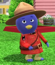 Disguise Mountie