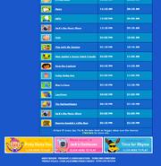 Noggin.com Schedule Backyardigans