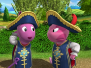 Backyardigans The Two Musketeers 9 Uniqua Austin
