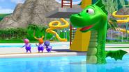 The Backyardigans Amazing Splashinis 10 Sea Monster