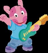 The Backyardigans Let's Play Music! Guitarist Uniqua