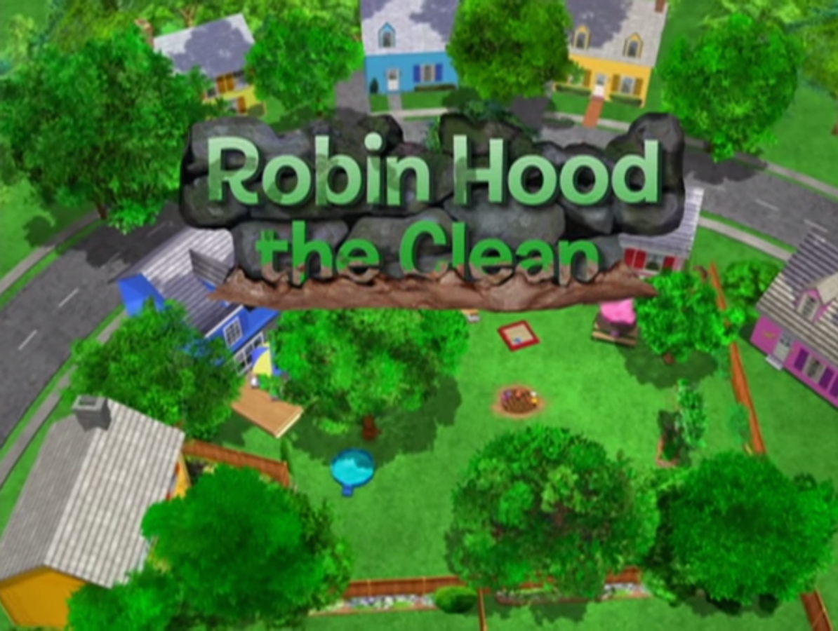robin hood the clean the backyardigans wiki fandom powered by wikia. Black Bedroom Furniture Sets. Home Design Ideas