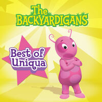 The Backyardigans Best of Uniqua - iTunes Cover (Canada)