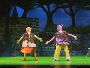 The Backyardigans Uniqua and Tasha in Nickelodeon Storytime Live!