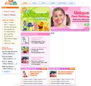 NickJr.com - The Backyardigans Characters Cast Nickelodeon Nick Jr. 2006 Show Page