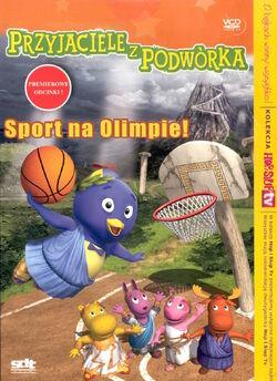 Przyjaciele z podwórka Sport na Olimpie! VCD