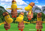 The Backyardigans Giant Tasha Model Sheet