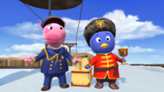 The Backyardigans Catch that Train! 22 Uniqua Pablo