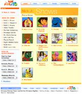 NickJr.com - The Backyardigans Nickelodeon Nick Jr. Characters Cast Show Menu