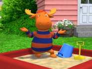 Tyrone in the Sandbox Backyardigans