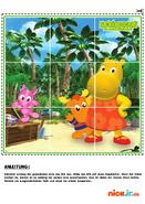 Nickelodeon The Backyardigans Nick Jr De Die Hinterhofzwerge BackyardiBabies Puzzle