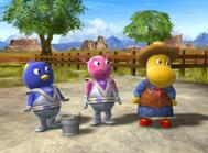 The Backyardigans Ranch Hands 36 Uniqua Pablo Tasha Characters Cast