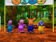 The Backyardigans Race Around the World 8 Characters