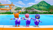The Backyardigans Amazing Splashinis 28 Uniqua Pablo Tyrone Characters Cast