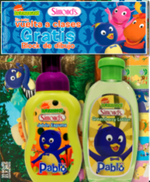 The Backyardigans Foam Soap and Lotion Set by Simond's