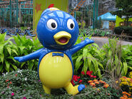 The Backyardigans Pablo Statue at Nickelodeon Universe