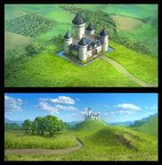 The Backyardigans Tower Castle Concept Art