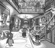 The Backyardigans It's Great to Be a Ghost! Production Art 1