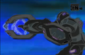 Daemon using Black Volt Cannon