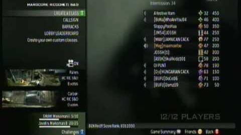 Trolling all over Xbox Live - MW3 - Hardcore S E