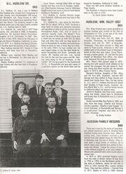 U. L. Hudlow family, 1924