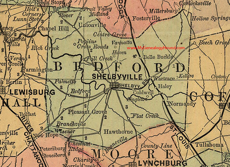 Tn-bedford-county-tennessee-1888-map