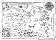 Map of Gwildor in German language.