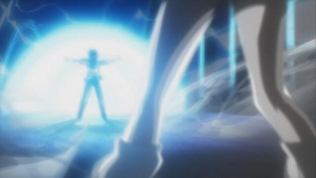 File:Mikoto using her railgun against Tom.jpg
