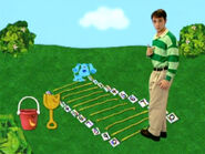 Blue's Clues Pail and Shovel Number Game