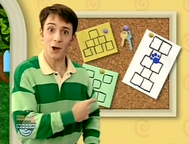 Blues clues thinking time