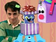 Blue's Clues Mailbox Birthday Present