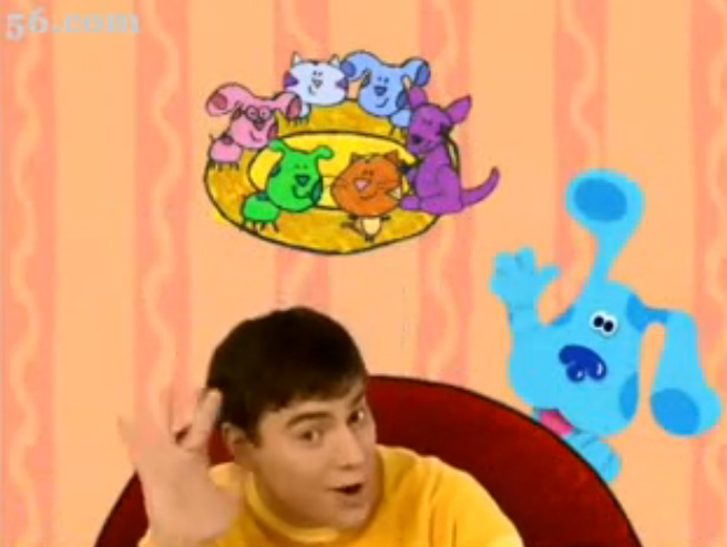 baby bear blues clues coloring pages - photo #25