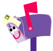 Blue's Clues Mailbox with Letter
