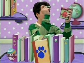 "Blue's Clues Season 1 Episode 2 ""What Time is it for Blue"""