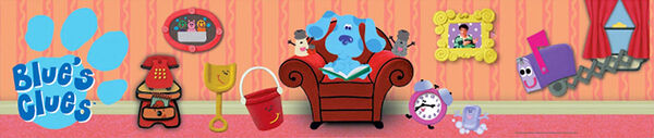 Nickelodeon Blue's Clues Characters Banner