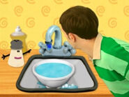 Blue's Clues Mr. Salt with Water Droplet Clue